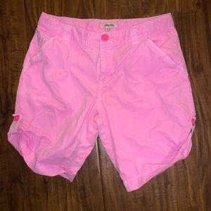 Cherokee pink Bermuda shorts size 14-16